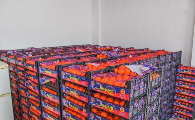 Karacabey'de sağlık çalışanlarına ve personele C vitamini takviyesi