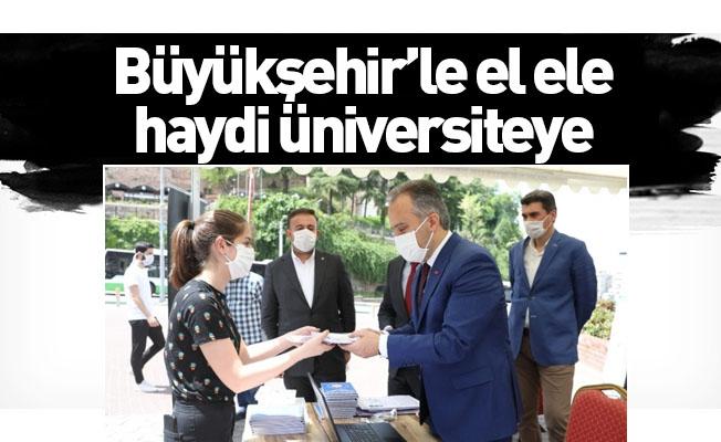 Büyükşehir'le el ele haydi üniversiteye