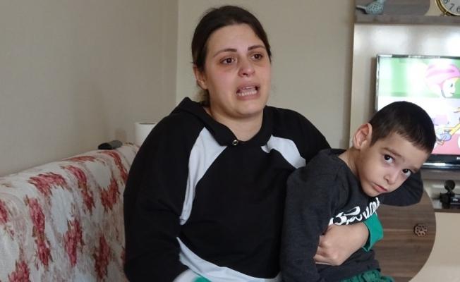 Gözü yaşlı annenin tek isteği oğlunun ilaçlarına ulaşabilmek