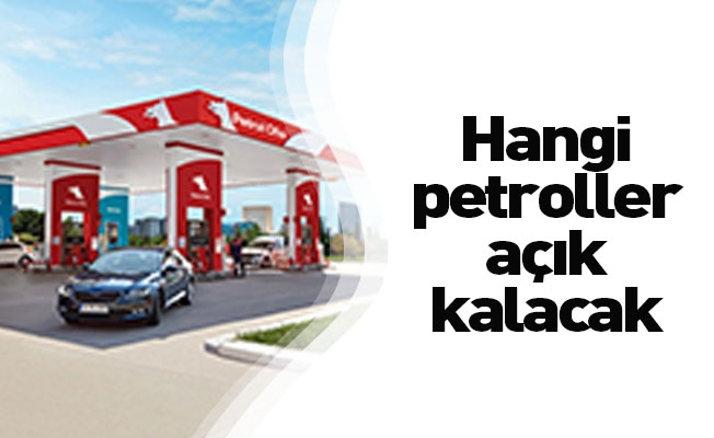 İnegöl'de yasak süresince açık olacak benzin istasyonları