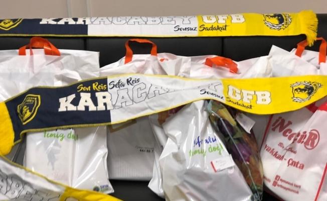 Karacabey Genç Fenerbahçeliler 70 çocuğu giydirdi