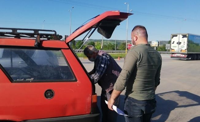 Kısıtlama zamanı otomobil çaldı, yakalandı ağır cezaya çarptırıldı