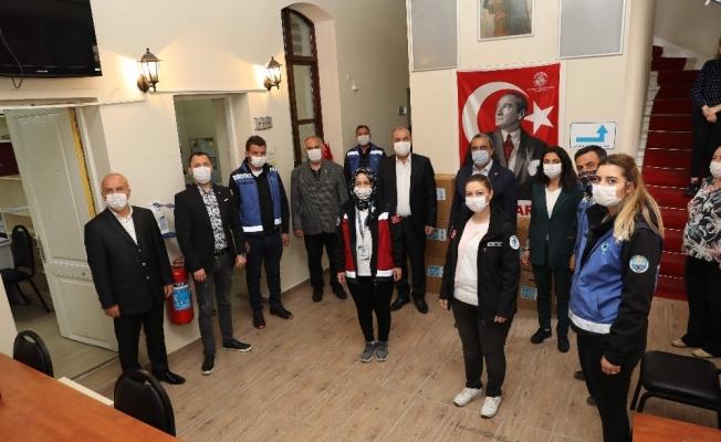 Mudanya Belediyesi personeline teşekkür ziyareti