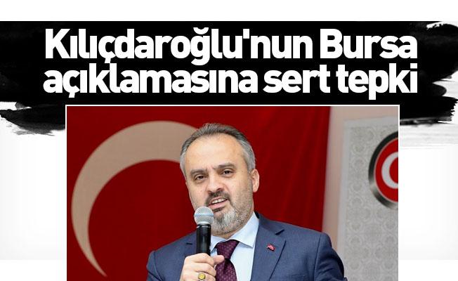 Başkan Aktaş'tan Kılıçdaroğlu'nun Bursa açıklamasına sert tepki