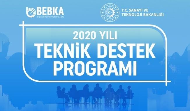 BEBKA'nın 2020 yılı teknik destek programı Mart-Nisan dönemi değerlendirme sonuçları açıklandı