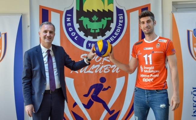 İnegöl belediyespor eski oyuncuyla tekrar anlaştı
