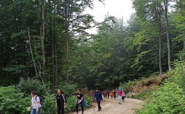 15 Temmuz'u Anma Doğa Yürüyüşü Düzenlendi
