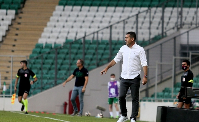 """Hüseyin Eroğlu: """"İyi oynadığımız maçı kaybettik"""""""