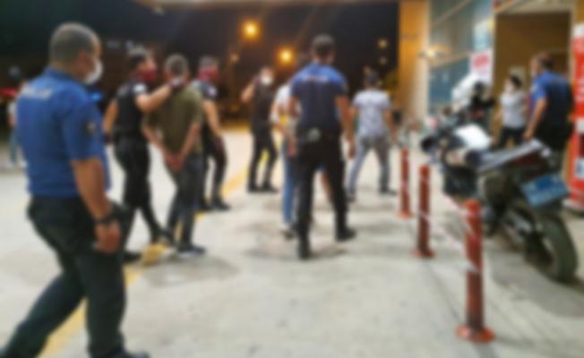 İnegöl'de uyuşturucu partisine polis baskını
