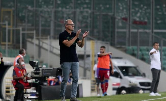 """İrfan Buz: """"Bursaspor olarak buralarda olmamamız gerekiyor"""""""