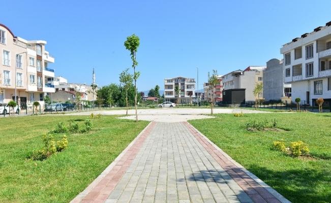 İsabey'e iki yeni park