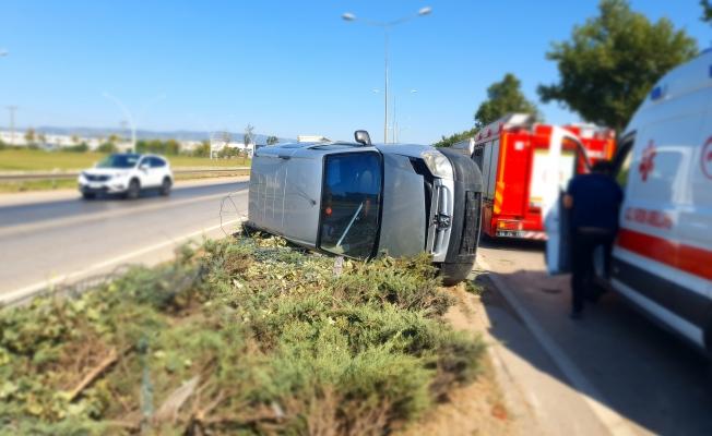 Bursa-Ankara yolunda korkutan kaza!
