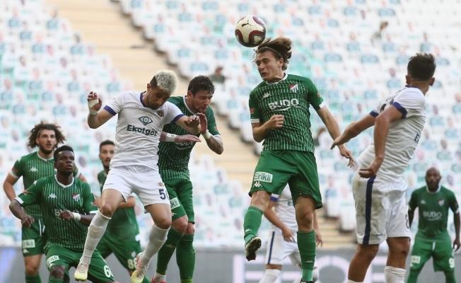 TFF 1. Lig : Bursaspor: 2 - Menemenspor: 2