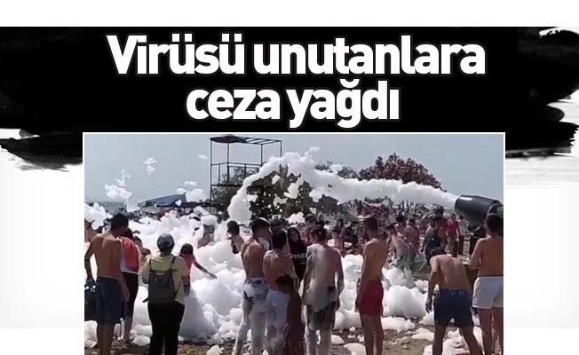 Virüsü unutanlara ceza yağdı