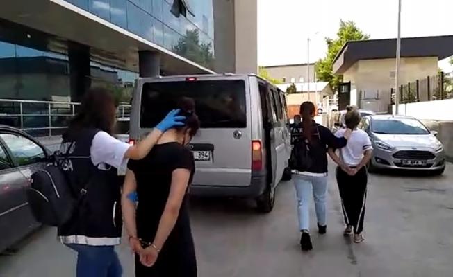 Bursa'da narkotik operasyonunda 6 şüpheli tutuklandı