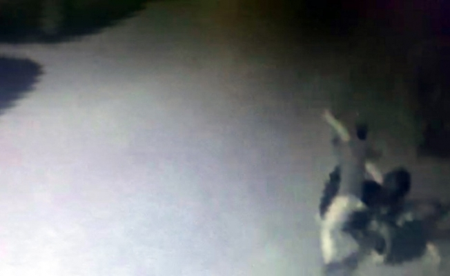 İnegöl'de motosiklet hırsızlığı kamerada