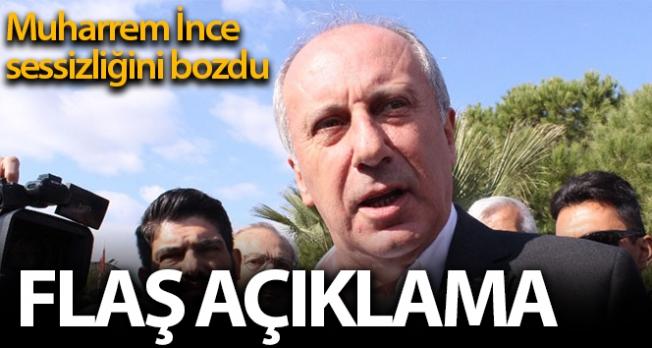 Muharrem İnce'den Kılıçdaroğlu'na sert sözler