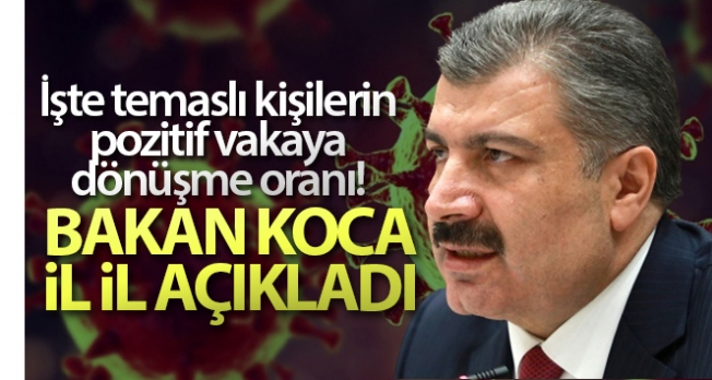 Sağlık Bakanı Koca'dan vaka artışı açıklaması