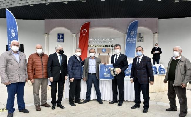 Bursa Büyükşehir Belediyesi arıcılığı destekliyor