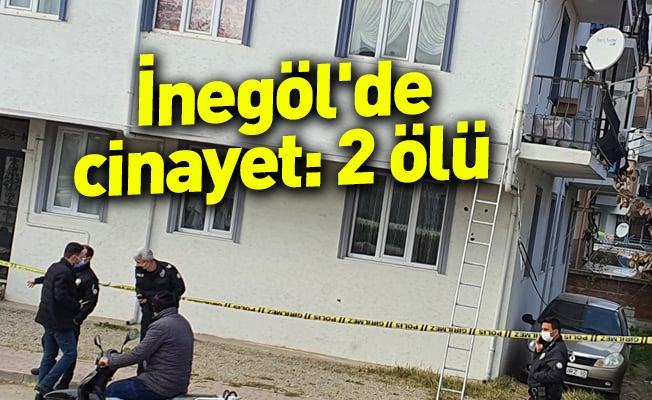 İnegöl'de cinayet: 2 ölü