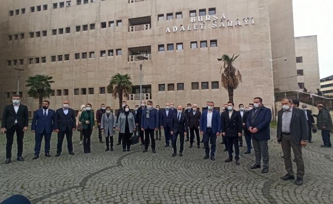 AK Parti Bursa İl Başkanlığından suç duyurusu