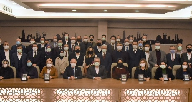 AK Parti İl Başkanı Davut Gürkan'dan vefa örneği