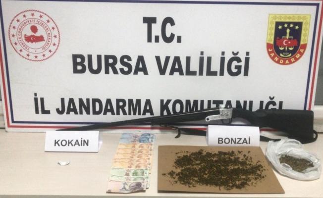 İnegöl'de uyuşturucu operasyonu