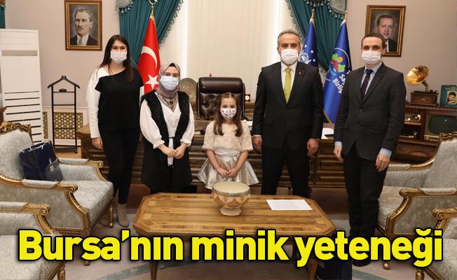 Bursa'nın minik yeteneği