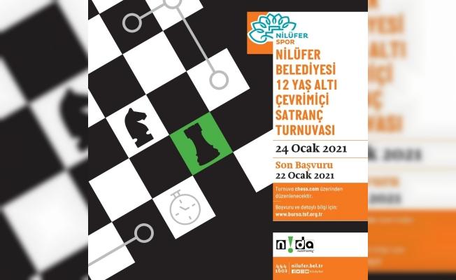 Nilüfer'de satranç heyecanı başlıyor