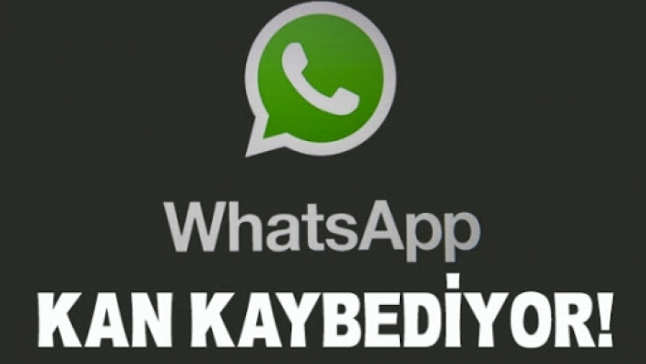 WhatsApp kan kaybediyor!