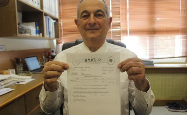 Korona aşısı olan anabilim başkanı antikor sonuçlarını paylaştı, gören sıraya girdi