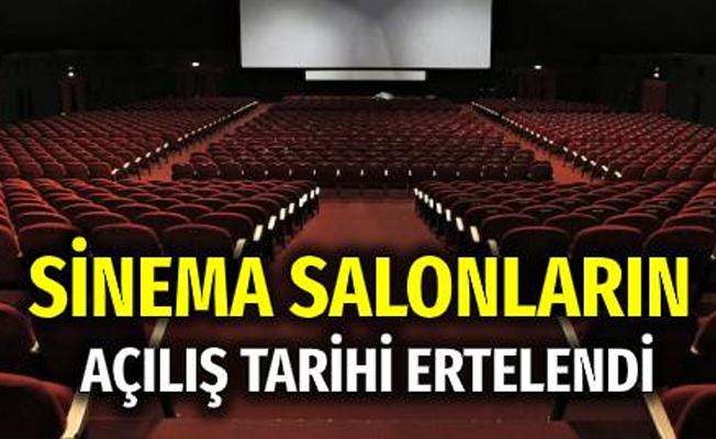Sinema salonlarının açılışı 1 Nisan'a ertelendi