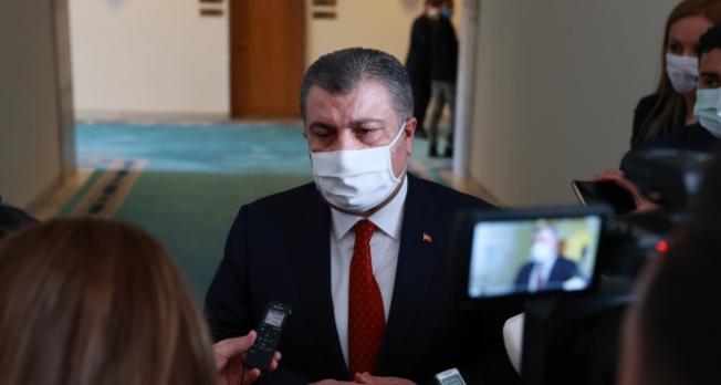 """Bakan Koca: """"Türkiye'de mutasyonun görülme oranı yüzde 75'lere ulaştı"""""""