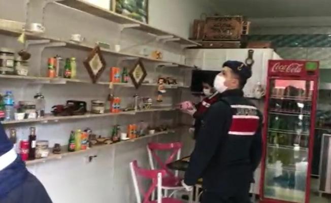 Çay ocağında çay yerine uyuşturucu servisi