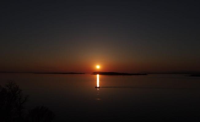 Gölyazı havadan görüntülendi