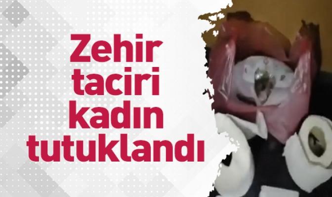 İnegöl'de zehir taciri kadın tutuklandı