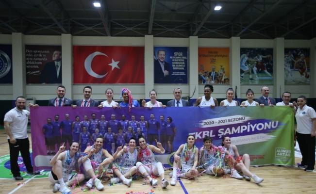 Bursa Büyükşehir Belediyespor, Kadınlar Basketbol Süper Ligi'ne yükseldi