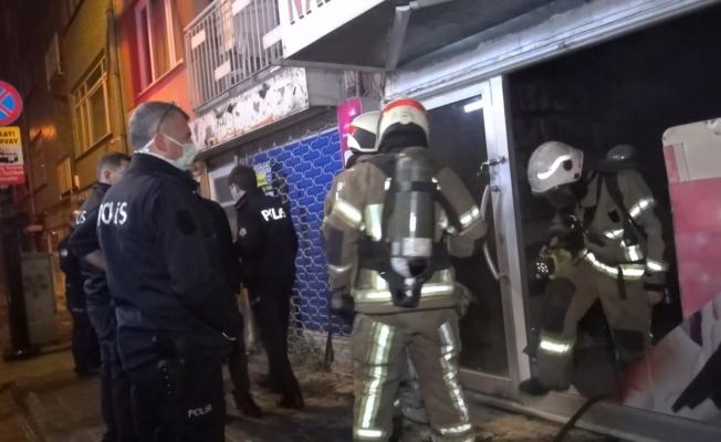 Bursa'da işyerine molotoflu saldırı