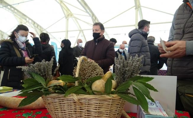Bursa'da Tohum Takas Şenliği'nde 15 bin yerli tohum dağıtıldı