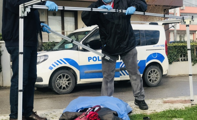 Bursa'daki kadın cinayetinden saniye saniye görüntüler