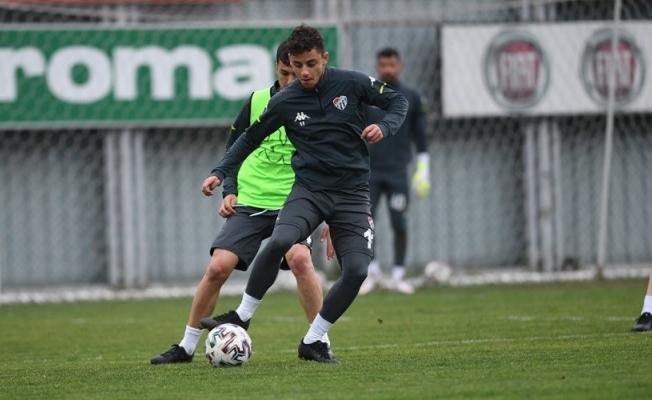 Bursaspor'da İstanbulspor maçı hazırlıkları tamamlandı