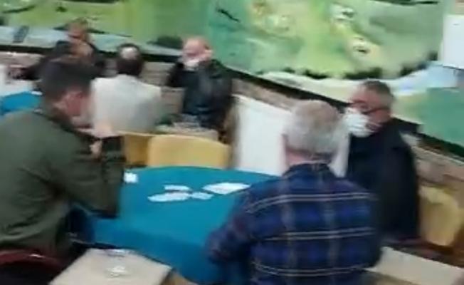 Kahvehanede oyun oynayanlara polis baskını
