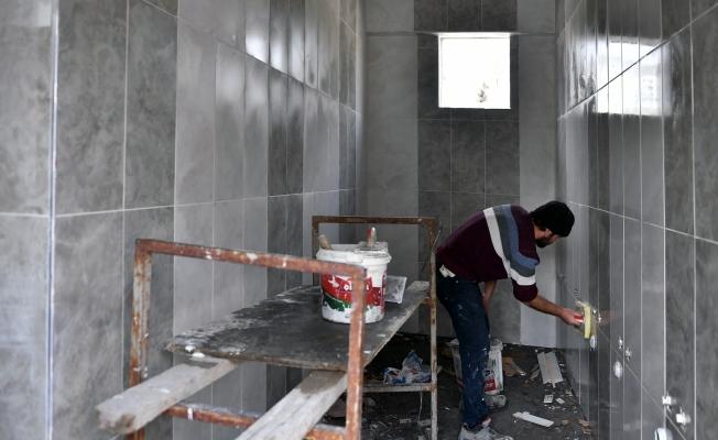 Osmangazi'de camiler bir bir yenileniyor