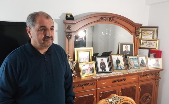 """Şehit Yarbay İlker Çelikcan'ın babası: """"Oğlumun kanı yerde kalmadı Allah razı olsun"""""""