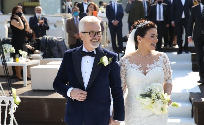 Turgay Erdem ve Zeynep Terzioğlu evlendi