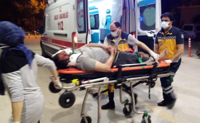50 metre sürüklenen motosikletin sürücüsü ağır yaralandı