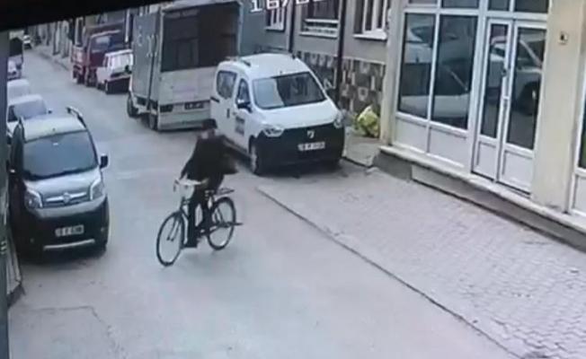 Apartmandan bisiklet çaldı