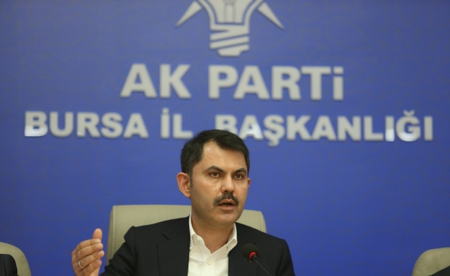 """Bakan Kurum: """"Türkiye 84 milyon vatandaşı ile İsrail'i durmuştur"""""""