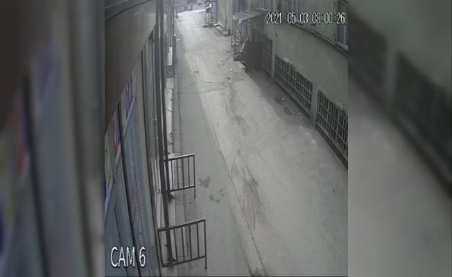 Caraskal koptu...Genç adam 5.kattan böyle düştü