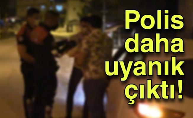 Polise boş kağıdı izin belgesi olarak gösterenlere ceza